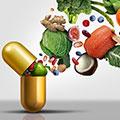 Cápsulas que recibe ingredientes naturales