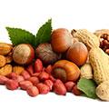 Puñado de frutos secos