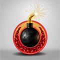 Imagen del colesterol simulando una bomba