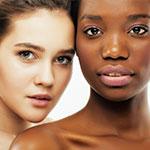 Diferentes pieles con diferentes tipos de cuidado
