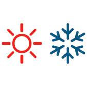 icono efecto frio/efecto calor