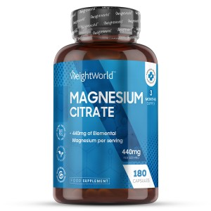 Citrato de Magnesio | Suplemento Natural de Bienestar