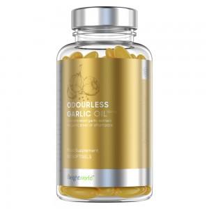 Cápsulas de Ajo Sin Olor - Suplemento Natural para el Bienestar  - WeightWorld - 90 Cápsulas de Gel