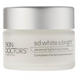 Caja y bote de crema SD White & Bright