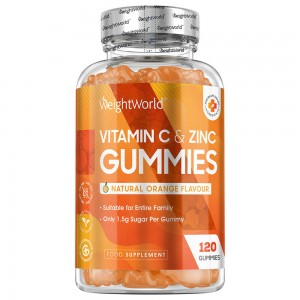 Gomitas de Vitamina C y Zinc | Ayuda Inmunitaria Natural | WeightWorld