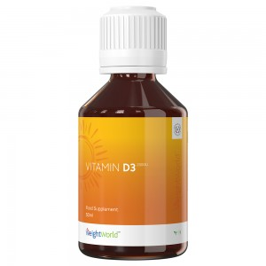 Vitamina D3 en Gotas de WeightWorld