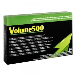Volume500 Cápsulas - Mejora del Fluido Masculino - Caja